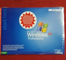 Microsoft Windows XP Professional 1 - 2 CPU with Plus and Product Key NEW SEALED