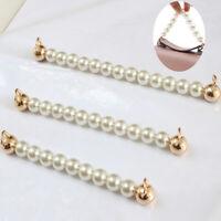 15/18/21cm Imitate Pearl Beaded Short Bag Strap Short Purse Handle Bag Chain New