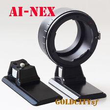 Nikon D/F/S AI to Sony E NEX NEX-3 NEX-5 NEX6 Nex7 Adapter AI-NEX With Tripod