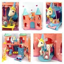 ⭐ ⭐ G1 Dream My Little Pony Castle Playset completo con Majesty y accesorios!