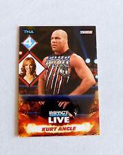 Kurt Angle Christy Hemme TNA Impact Pro Wrestling Trading Card WWE nxt wrestler