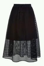 Bnwt Clover Canyon mesh overlay skirt.black. sz XS (uk 8). £210