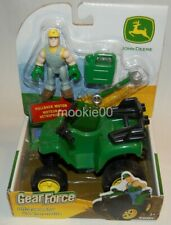 John Deere Gear Force OFF-ROAD ATV & Hank Figure Preschool Toy
