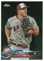 Mike Trout 2018 Topps Chrome Update #HMT69 Los Angeles Angels