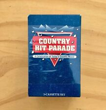Country Hit Parade Celebration of Today's Country Music 1994 3 Cassette Set New