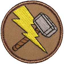 Awesome Boy Scout Patrol Patch! - #498 The Thor Hammer Patrol!
