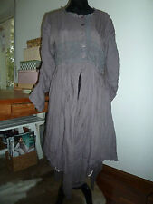 Ewa I Walla abrigo/chaqueta primavera verano otoño Grey talla s Boho como nuevo