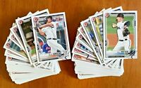 2021 Bowman Prospects Lot of 100 Jasson Luciano Kelenic Torkelson - No doubles!