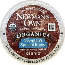 Newman's Own Organic Special Blend Coffee Keurig K-Cup Pods 100 Count