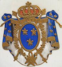 Porzellan Wappenteller FRANZÖSISCHES KÖNIGSWAPPEN, Samson, Paris, um 1890, 10