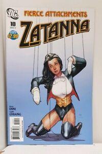 Zatanna 10 - DC Comics 2011 VF-