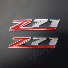 2x Metal Z71 Emblem Badge Decal Sticker Chevrolet Chevy Silverado 3500 Sierra