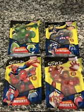 Heroes of Goo Jit Zu Marvel Set (Hulk, Spider-Man, Captain America & Iron Man)