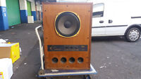 """Tannoy Super Red Monitor 15"""" Speaker Very Rare Vintage Classic (R)"""