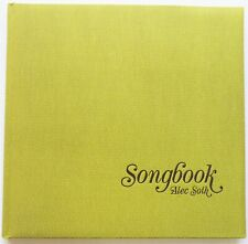 ALEC SOTH - SONGBOOK - SIGNED COPY OF THE 2015 EDITION - FINE sleep mississippi