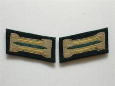 WW2 German Heer Recon EM Bevo Collar Tabs