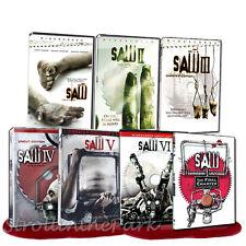 Saw I II III IV V VI VII Complete Horror Series Movies 1-7 Boxed/DVD Set(s) NEW!