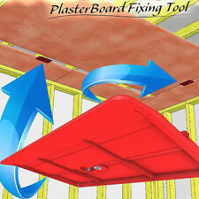 2x Drywall Fitting Plasterboard Fixing Equipment Ceiling Positioning Plate Tool