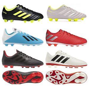 adidas Boys FG Football Boots Girls Kids Firm Ground Boot Size 10,12,13,2,3,4,5