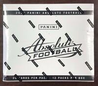 2020 Panini Absolute Football Sealed Cello Box Fat Packs New Tua Herbert RC Auto