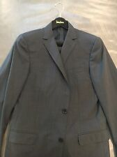 Z-Zegna Mens 100% Wool Drop 8 Very Slim Fit Micro-Check Suit 52 42L 34x32 $1595