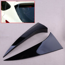 1Pair Rear Window Spoiler Side Wing Cover Fit For Hyundai Tucson IX35 2010-2017