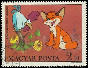 "HUNGARY 2761 - ""Vuk the Fox Cub"" by Attila Dagray (pf70919)"