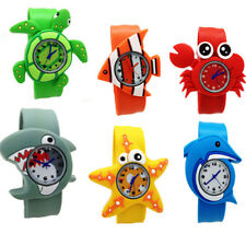 Cute Cartoon Animals Crab Quartz Wrist Watches Boys Girls Kids Baby