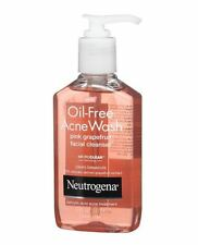 Neutrogena Oil-Free Acne Wash Face Cleanser, Pink Grapefruit 6 oz