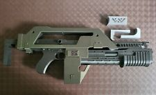 More details for aliens m41a pulse rifle - printed in colour - 1:1 scale prop for display & more.