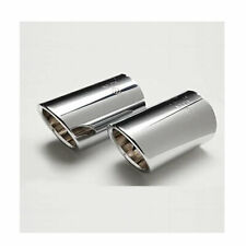 🔥 Genuine NEW Stainless Steel Polished Metal Exhaust Tips For VW Golf MK7 🔥