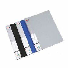 High Quality Plastic Display File / Leaf Document file - with - 40 Leaf Set of 4