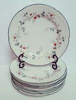 """Lot of 8 Pfaltzgraff Winterberry Dinner Plates 10 3/8"""" Christmas Holiday"""