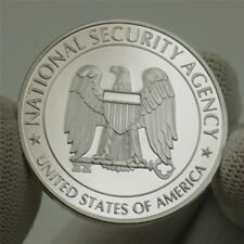 US Central Security Service NSA National Security Agency Challenge Silver Coin