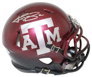 Johnny Manziel Autographed Texas A&M Aggies 2 Tone Mini Helmet JSA 24951