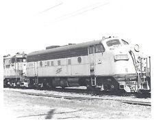 C&NW Chicago & Northwestern #210 diesel covered wagon 8X10 b&w photo