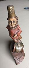 "1988 Tom Clark's Gnome ""Stitch,"" Thimble Family figurine , Cairn Studio #5060"