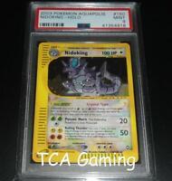 PSA 9 MINT Nidoking 150/147 Aquapolis CRYSTAL HOLO RARE Pokemon Card