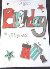 It's Your Birthday - All The Best. Male Birthday Card by Eclipse Cards.