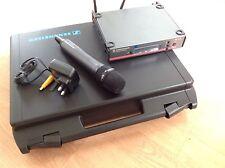 sennheiser EW100 G3 wireless radio hand held microphone System