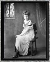 Stunning... Beautiful Woman, 1920's Flapper Era ... Antique 5x7 Photo Print