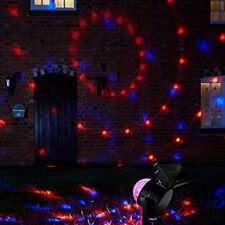 Waterproof Garden LED Laser Projector Solar Light Outdoor Lamp Christmas Decor^^