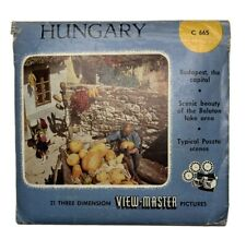 View-Master HUNGARY - C665 - 3 Reel Set