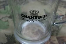 Very hard to find Chambord glass serving pitcher 4 Raspberry Margarita or others