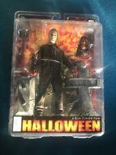 NECA Michael Myers Halloween Rob Zombie 2007 Rare Horror Action Figure Reel Toys
