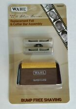 WAHL 5 FIVE STAR SHAVER REPLACEMENT ANTI ALLERGIC GOLD FOIL 7031-100 BUMP FREE