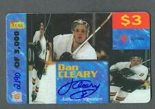 Dan Cleary 1995-96 SR Auto Phonex Auto Phone Card #15