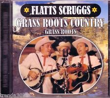 Flatts Scruggs Grass Roots Country CD Classic 50s 60s Bluegrass Greatest Hits