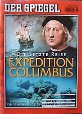 SPIEGEL 25/2004 Die letzte Reise von Christoph Columbus