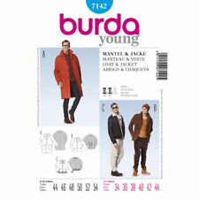 Burda SEWING PATTERN 7142 Mens Coat & Jacket 34-44